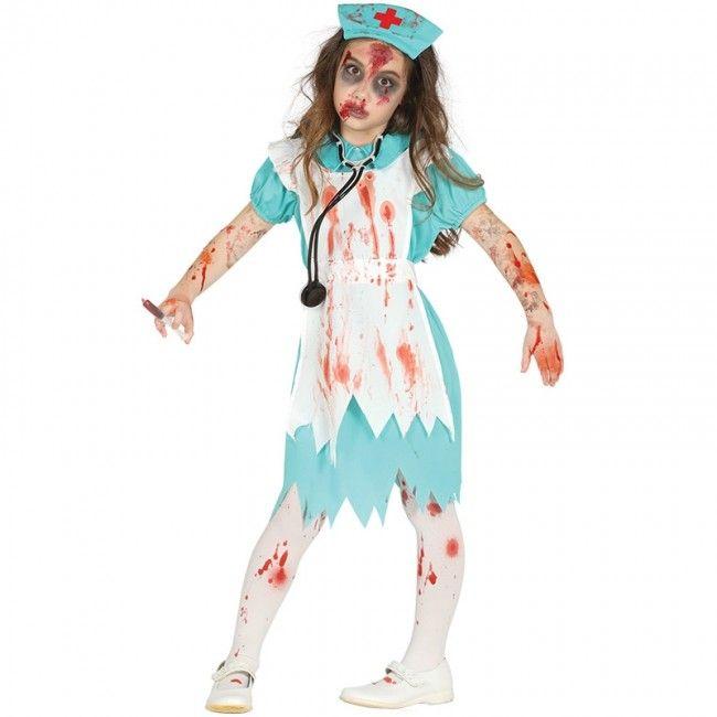 Déguisement Infirmière Zombie pour fille #costumespetitsenfants #nouveauté2017