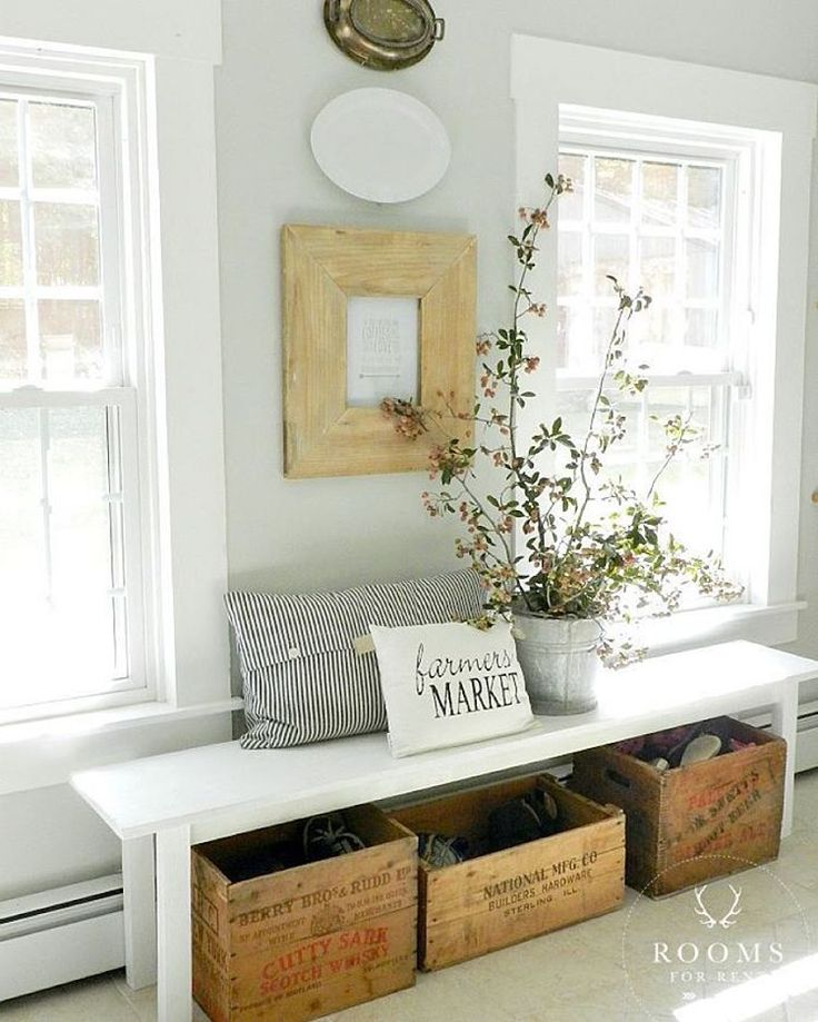1000 Ideas About Entryway Bench On Pinterest Rustic