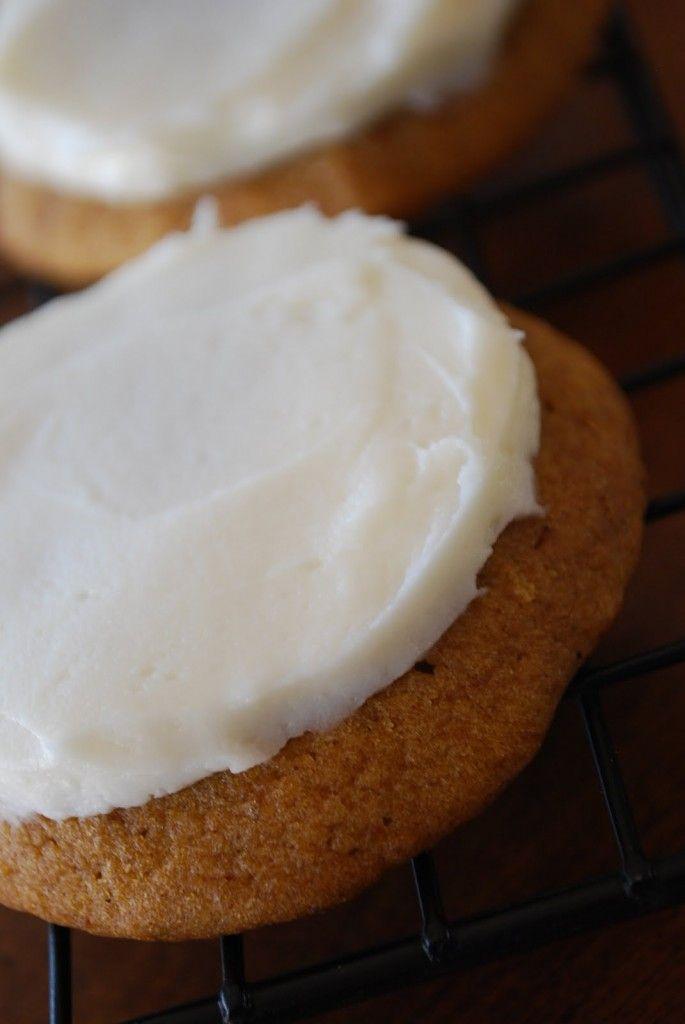 Moist Pumpkin Cookies - add more cinnamon and pumpkin spice.