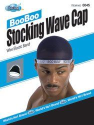 Dream, Boo Boo STOCKING WAVE CAP, Wire Eastic Band (Item #045 Black) by Dream. $2.49. Superior Quality. Wrinkle Free. Wire Elastic Band. 100% Nylon. Super Stretch. Color Black