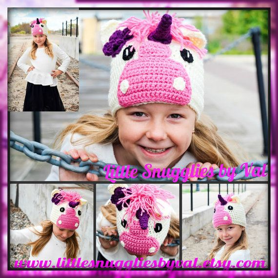 LSBV Unicorn Hat. Multiple Sizes Available. Made to Order. on Etsy, $29.95