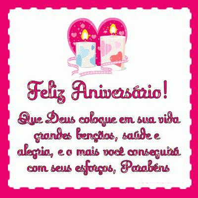 Feliz Aniversário! Que Deus coloque em sua vida grandes bençaos