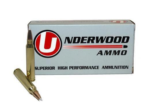 338 Winchester Magnum 225 Grain Nosler AccuBond Spitzer Box of 20 - Underwood Ammo