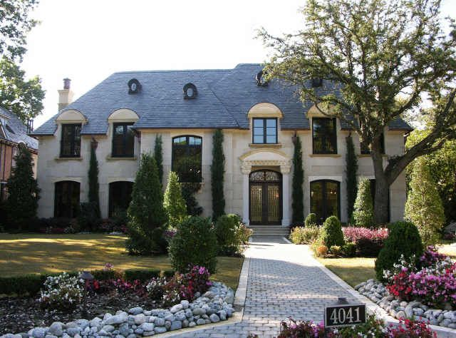 french provincial style house home exterior design ideas - Colonial Design Homes