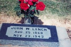 "John Wesley ""Wes"" Lynch 1868-1943"
