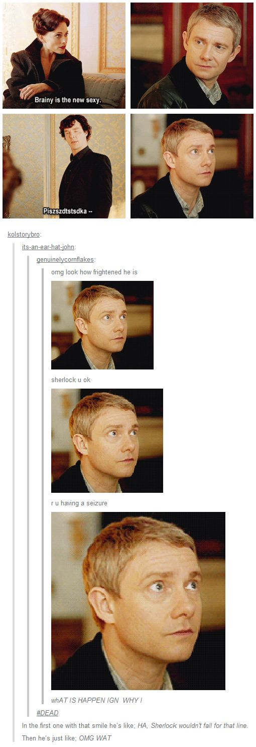 My Goodness!! Martin Freeman is a brilliant actor!