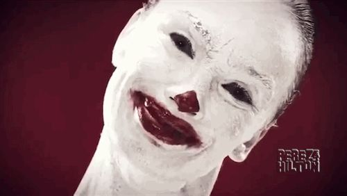 Scariest clowns in movie & TV history! http://perezhilton.com/2014-10-08-scary-clowns-tv-movies-american-horror-story-freak-show