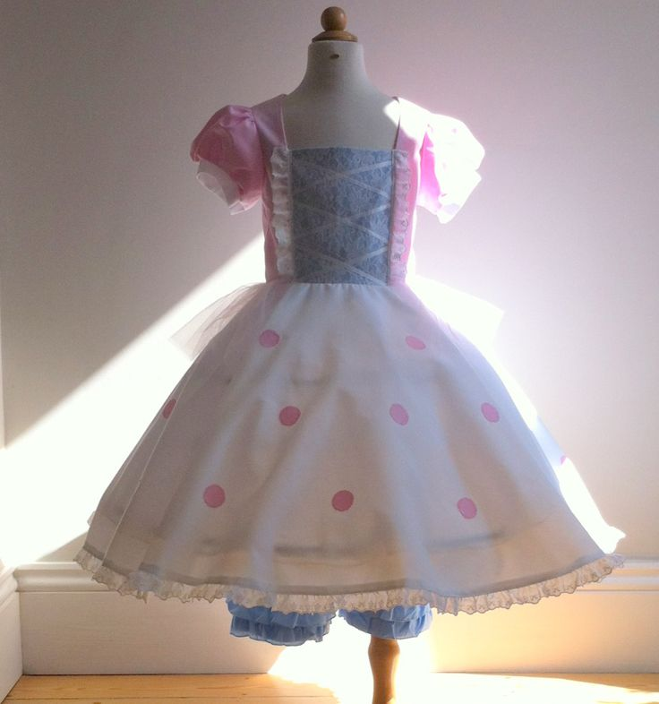 Bo Peep from Toy Story Character song and dance costume