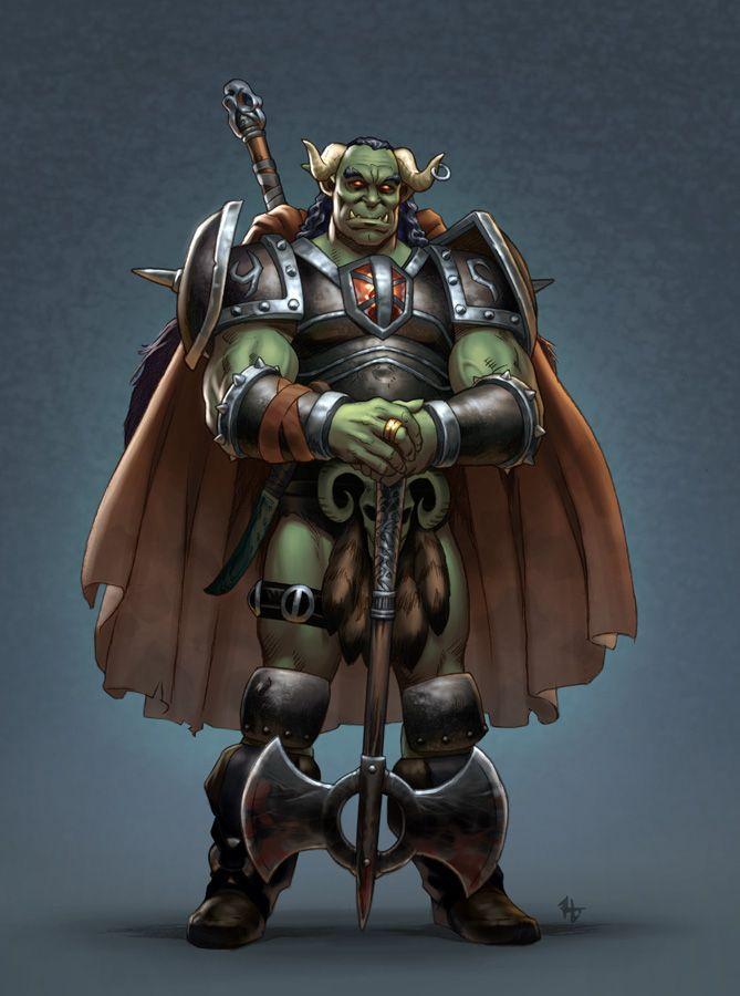 Orc Commander by ~Webcomicfan on deviantART