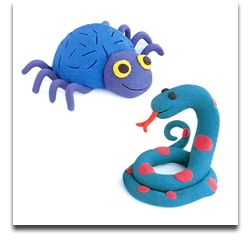 Barbara Reid-author and illustrator--- A site that explains how to make plasticine art.