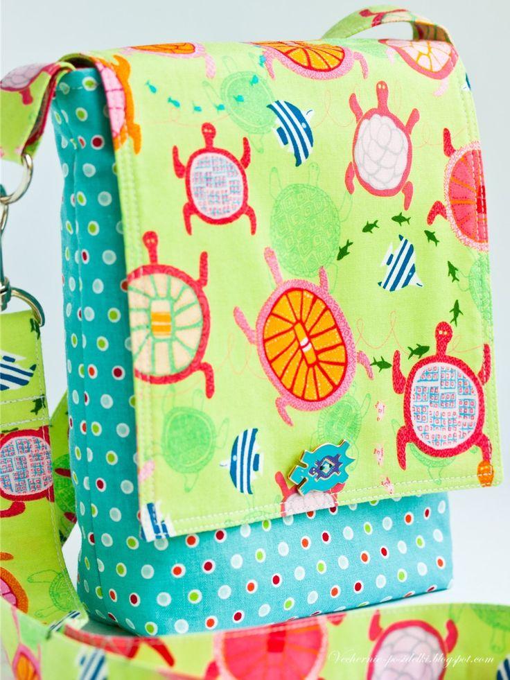 Вечерние посиделки: Как сшить сумку / Bag tutorial