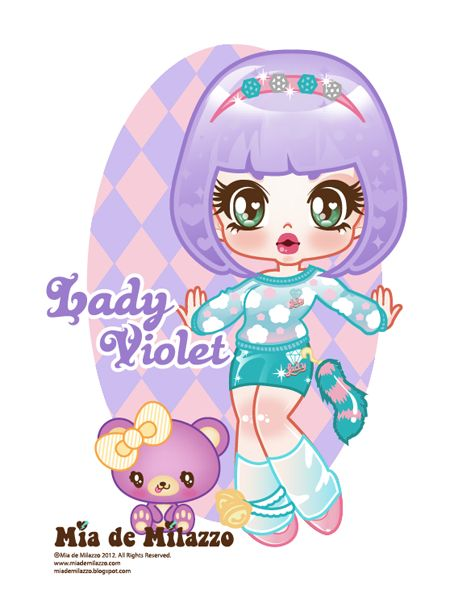 Lady Violet by mimiloverwomen.deviantart.com on @deviantART