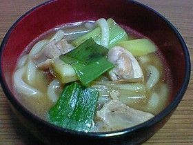 Chicken Udon フライパンで簡単鶏なんばうどん(そば)