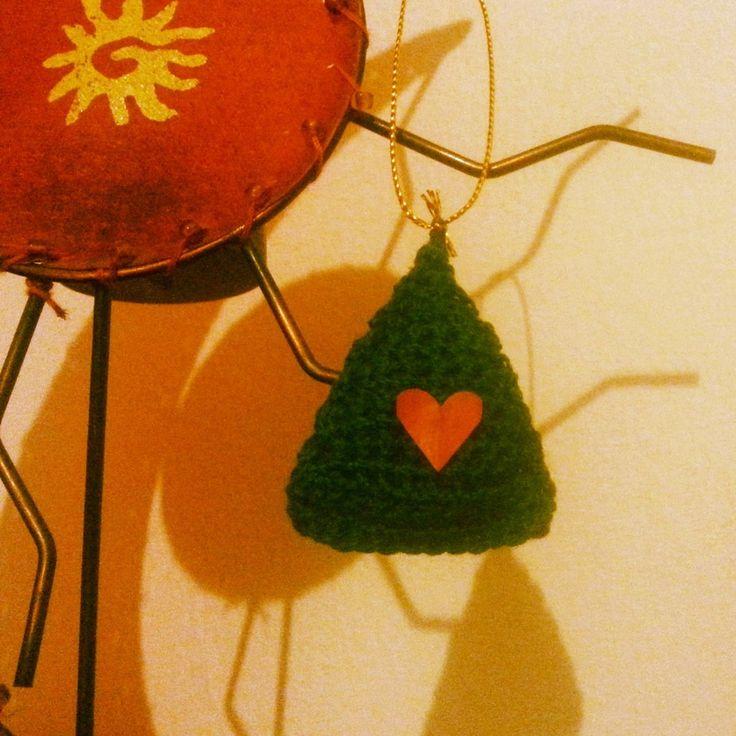 Addobbo natalizio fatto a mano con uncinetto, by Fatto a mano Lumanufattu, 2,00 € su misshobby.com