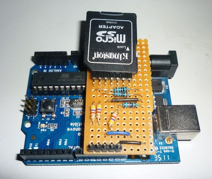 Diy Arduino Micro SD Adapter (#arduino) #sdshield