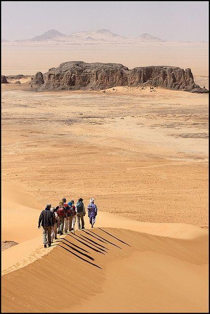 Hoggar Mountain region, Algeria.