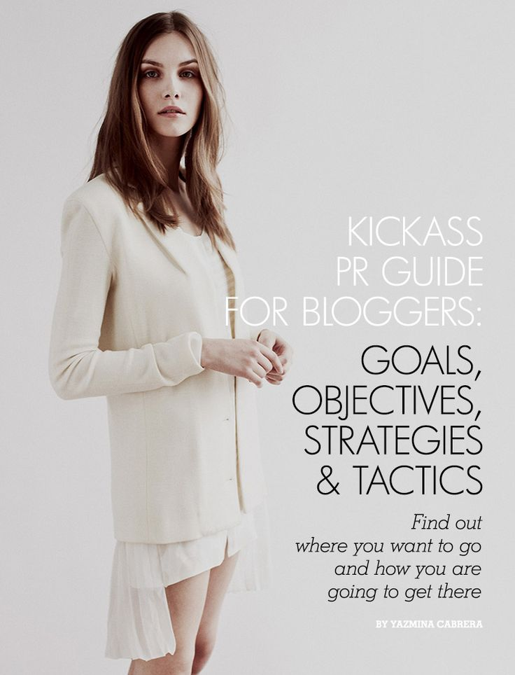 Goals, Objectives, Strategies and Tactics for Bloggers