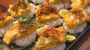 Balinese Curry with Red Emperor