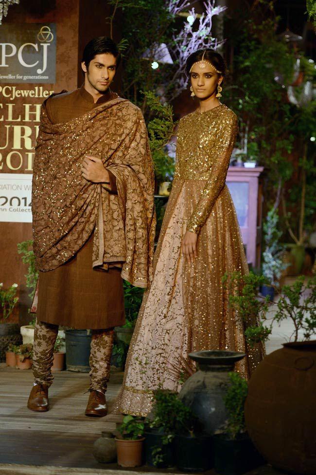 SABYASACHI's https://www.perniaspopupshop.com/designers-1/sabyasachi Colection 'OPIUM' @ PCJ Delhi #Couture Week, Aug, 2013 | Photo: Ramesh Sharma