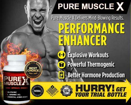 Pure Muscle X Review – Effective Performance Enhancer For Men! #MensHealthOnline #TestosteroneBooster #Supplement #BetterHormoneProduction #Review2016