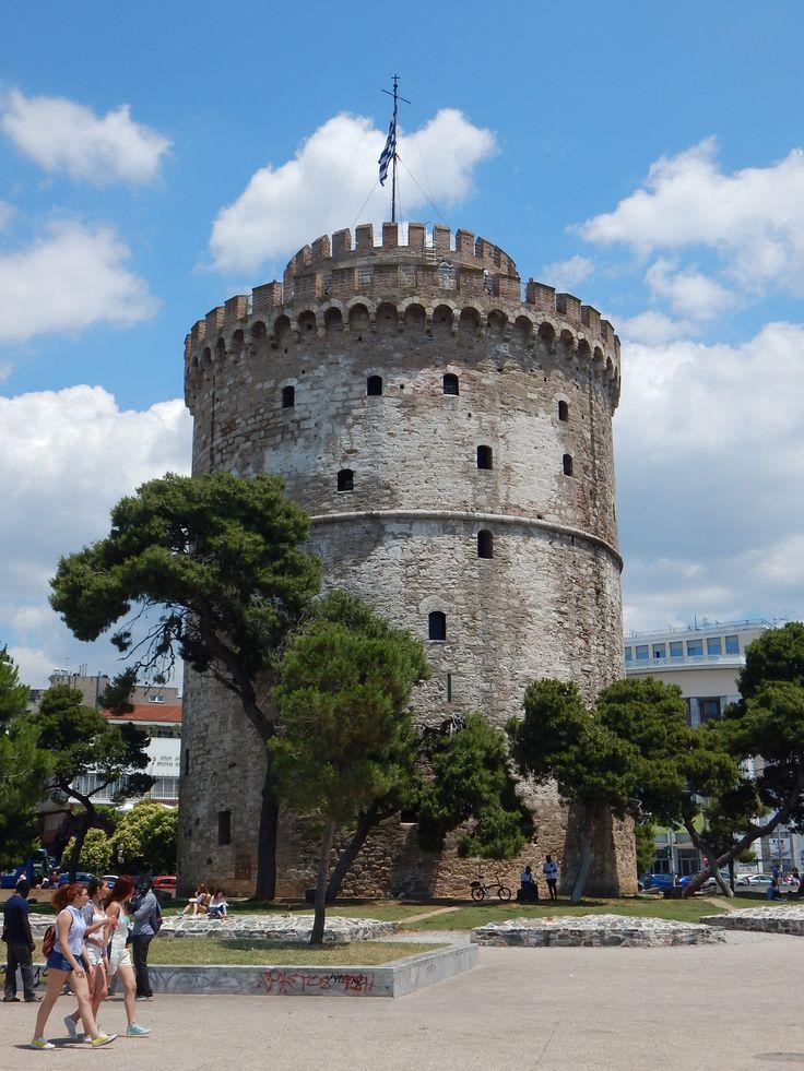 #Салоники #Белая_башня #Греция #символ_Салоник