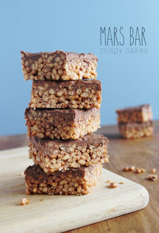 Stack 'em high! | fabrefaction - mars bars/rice crispies recipe