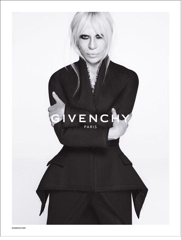 Les plus belles campagnes mode de l'automne hiver 2015 2016 - Donatella Versace Givenchy