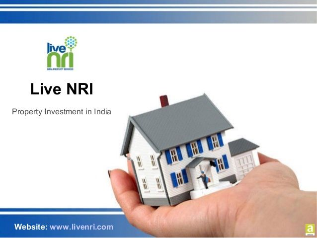 LiveNRI - Experts for Best Property Investment in India