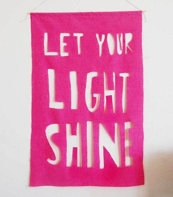 Quotes About Letting Your Light Shine. QuotesGram