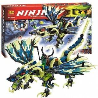 "Bela Ninja 10400 ""Атака Дракона Морро"" 659 деталей"