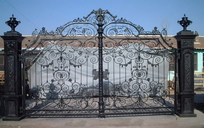 Gorgeous Garden Cast Iron Fancy Gate 11 5 Ft Tall Sheds