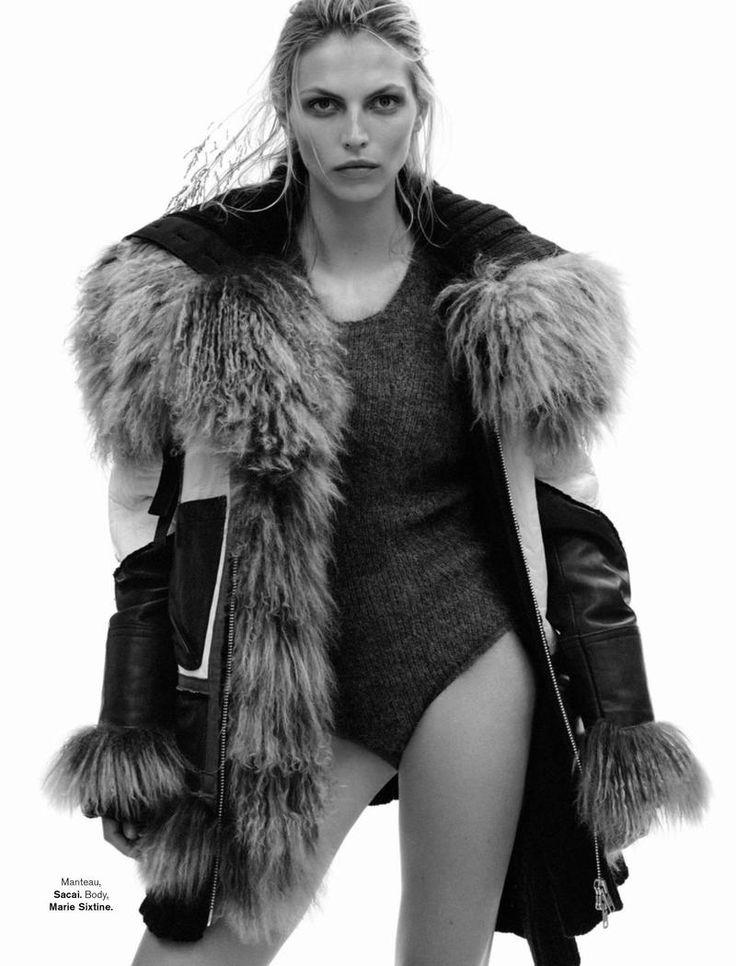 Karlina Caune bikini in Glamour France October 2015 Photoshoot