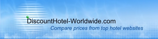 On this site you can compare hotel prices, and book at a discounted price.