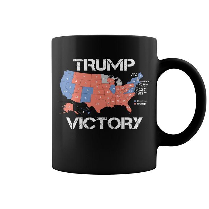 Trump Victory - 45th President Election Map Mug  coffee mug, papa mug, cool mugs, funny coffee mugs, coffee mug funny, mug gift, #mugs #ideas #gift #mugcoffee #coolmug