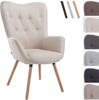 Retro-Stuhl mit Armlehne AALBORG, Stoff-Bezug, Holz-Gestell Eiche, belastbar bis 160 kg, sesselförmiger Sitz, gepolstert, Sitzhöhe 49 cm Jetzt bestellen unter: https://moebel.ladendirekt.de/kueche-und-esszimmer/stuehle-und-hocker/polsterstuehle/?uid=3aea080a-c87a-55de-ab5e-c5215c27a4c0&utm_source=pinterest&utm_medium=pin&utm_campaign=boards #kueche #polsterstuehle #esszimmer #eckbänke #hocker #stuehle