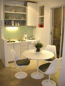 muebles de cocinas pequeñas monoambientes lindas
