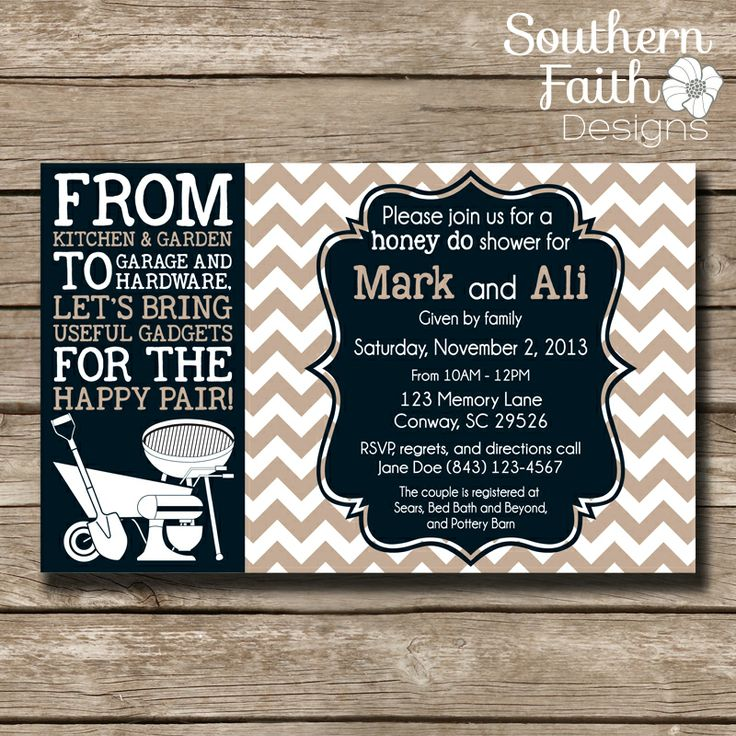 12 Best Tool Party Invites Images On Pinterest At Home March