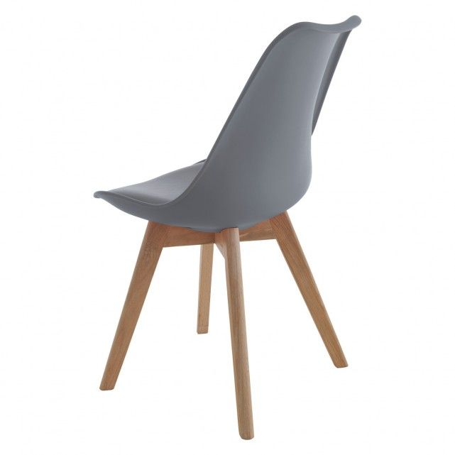 JERRY Grey dining chair | Buy now at Habitat UK