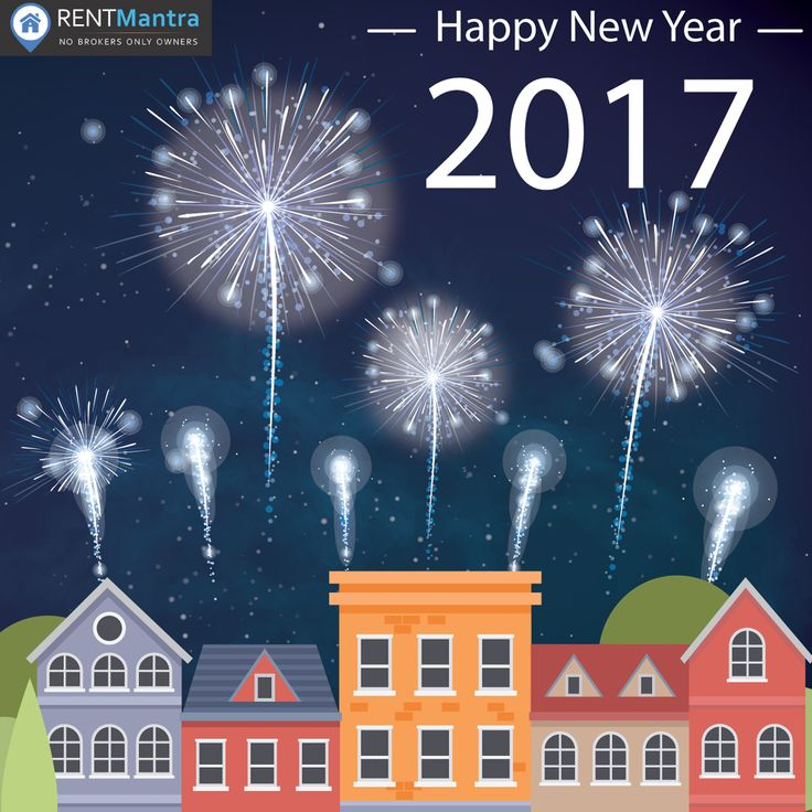 Rentmantra & its Team Wishes You a Happy New Year 2017#HappyNewYear2017 #brokerfree #houseonrent #rentmantra