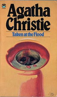 """taken at the flood,"" also printed as ""there is a tide."" agatha christie fontana book"
