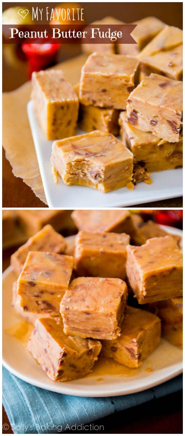 Hands down, the BEST peanut butter fudge recipe you'll ever have. And I tested tons of them!