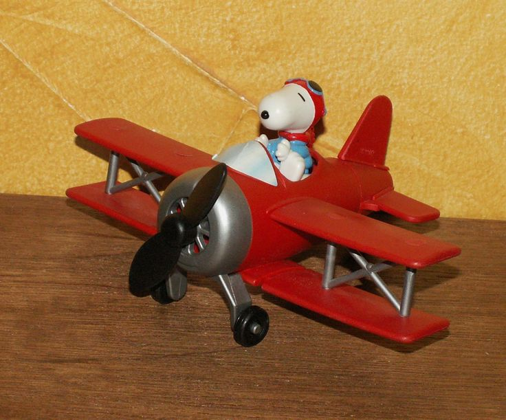 Maxi Kinder Snoopy dans l'avion