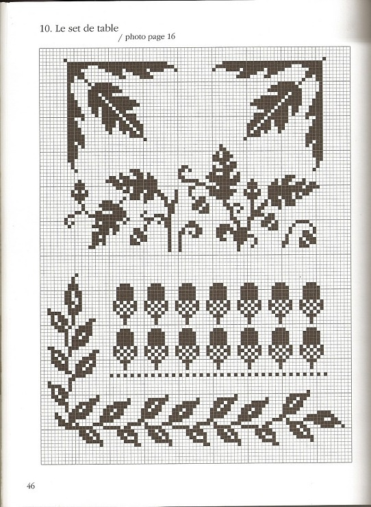 Gallery.ru / Фото #22 - Noir - Labadee acorn and fall leaves pattern for cross stitch