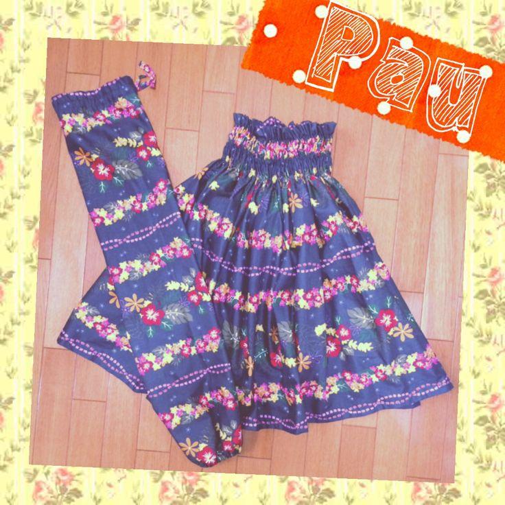 Pau skirt and case for keiki(kids)