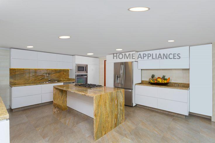 Las mejores cocinas en Home Appliances #kitchen #Home #ideas  #cocinas  #design  #homeappliances #Electrodomesticos #Persianas #Art #Shopping #Hornos #campanas #Muebles