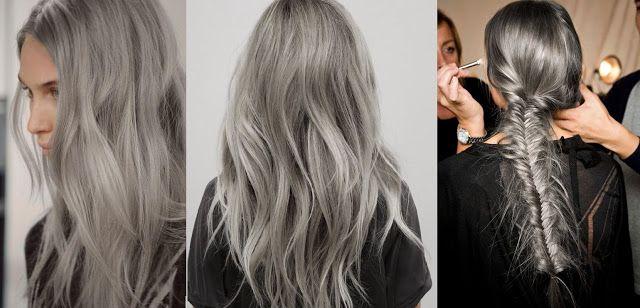 BOHO SHOP. Жизнь в стиле Бохо...: Прически в стиле Бохо. Седые волосы тренд 2015!