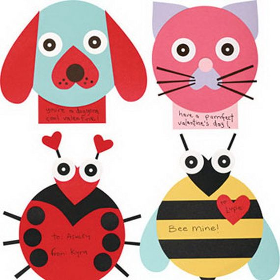 142 Best Kids' Arts & Crafts [Valentine'S Day] Images On Pinterest