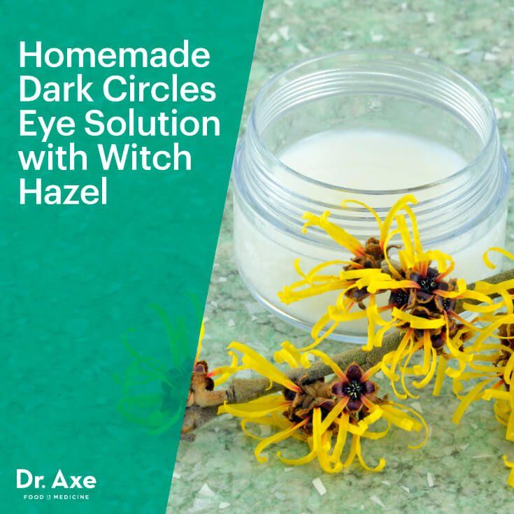 Homemade morning eye solution - 1/2 ounce witch hazel extract | 10 drops chamomile essential oil | 1/2 ounce pure aloe vera gel | 10 drops lavender essential oil