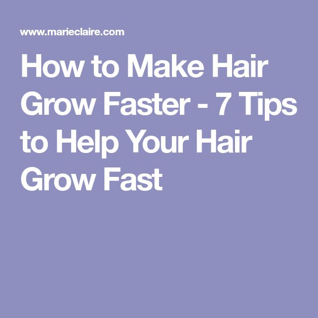 how to make your grow longer
