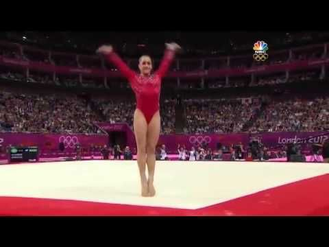 Jordyn Wieber (USA) Floor Exercise, London 2012floor music Wild Dance by Ruslana.. MY ABSOLUTE FAVORITE GYMNAST